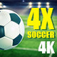 Soccer Background & Football Green Field Pack - VideoHive Item for Sale