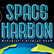 Space Harbon - Futuristic Font - GraphicRiver Item for Sale