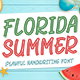 Florida Summer - Crafting Fun Font - GraphicRiver Item for Sale