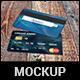 Credit Card Mockup - GraphicRiver Item for Sale