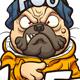 Pug Life - GraphicRiver Item for Sale