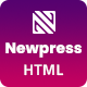 Newpress - Blog Magazine HTML Template - ThemeForest Item for Sale