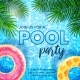 Pool Party Invitation Banner Template - GraphicRiver Item for Sale