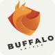 Buffalo Shield - Logo Template - GraphicRiver Item for Sale