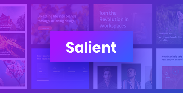 Salient – Responsive Multi-Purpose Theme, Gobase64