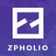 Zpholio - Portfolio - ThemeForest Item for Sale