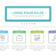 Diagram with 6 Elements - GraphicRiver Item for Sale