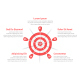 Red Target with Five Arrows - GraphicRiver Item for Sale