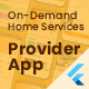Service Provider App for On-Demand Home Services Complete Solution - CodeCanyon Item for Sale