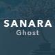 Sanara – Modern Blog and Magazine Ghost Theme - ThemeForest Item for Sale