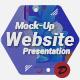 Mock-Up Website Presentation - VideoHive Item for Sale