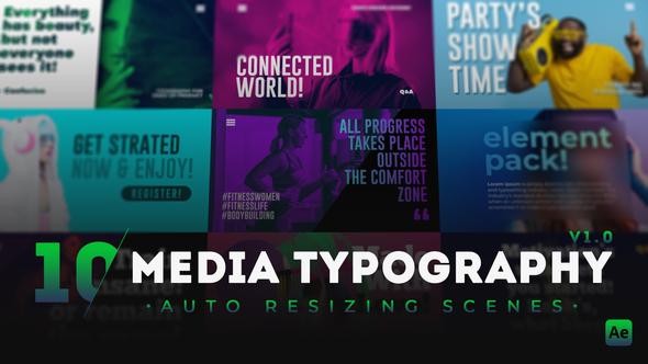 10 Media Typography Scenes