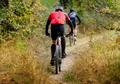 back man on mountain bike riding - PhotoDune Item for Sale