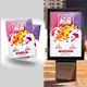 Color Run Festival Flyer + Poster Bundle - GraphicRiver Item for Sale