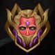 Warrior Rank Emblem Game Asset - GraphicRiver Item for Sale