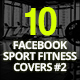 10 Facebook Sport Fitness Covers - GraphicRiver Item for Sale