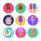 50 Ice-Cream Icons - GraphicRiver Item for Sale