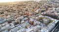Aerial view of Sankt Petersburg Russia city old town roofs in winter time - PhotoDune Item for Sale