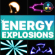 Energy Explosions | DaVinci Resolve - VideoHive Item for Sale