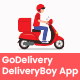 GoDelivery IOS - Delivery Software for Managing Your Local Deliveries - DeliveryBoy App - CodeCanyon Item for Sale