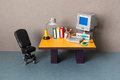 Retro style toy office workplace. - PhotoDune Item for Sale