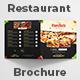 Square Bi-fold Food Menu Brochure - GraphicRiver Item for Sale