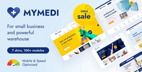 MyMedi – eCommerce HTML Template, Gobase64