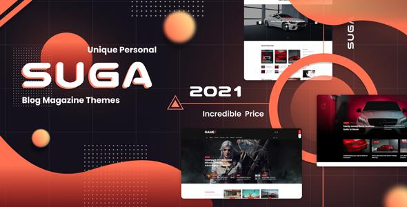 Suga – Ecommerce Magazine WordPress Theme, Gobase64