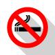 No Smoking Labels - GraphicRiver Item for Sale