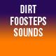 Dirt Footsteps Sounds