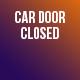 Car Door Closing