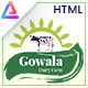 Gowala - Dairy Farm & Eco Products HTML Template - ThemeForest Item for Sale