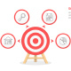 Target Infographics - GraphicRiver Item for Sale