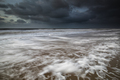 stormy sea and dark sky - PhotoDune Item for Sale