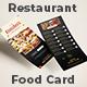 Restaurant Menu DL Flyer - GraphicRiver Item for Sale