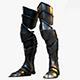Warrior_Leg_Armor_Model - 3DOcean Item for Sale