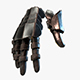 Warrior Hand Armor Model - 3DOcean Item for Sale
