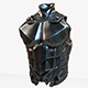 Warrior Upper Armor Model - 3DOcean Item for Sale