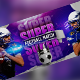 Football Facebook Cover - GraphicRiver Item for Sale