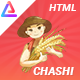 Chashi - Agriculture & Organic Food HTML Template - ThemeForest Item for Sale