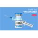 Covid-19 Coronavirus Vaccine and Syringe - GraphicRiver Item for Sale