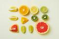 Lemon, orange, lime and grapefruit cut into pieces - PhotoDune Item for Sale