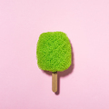 Wash scrubber on a stick looks like ice cream - PhotoDune Item for Sale