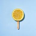 Summer concept lemon on a stick instead of ice cream - PhotoDune Item for Sale