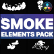 Cartoon Smoke Elements | DaVinci Resolve - VideoHive Item for Sale