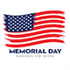 Memorial day remember & honor flag national flag usa  vector222 - GraphicRiver Item for Sale