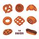 Bakery Clipart. Boulangerie Set Of Elements. - GraphicRiver Item for Sale