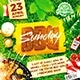 BBQ Party Flyer vol.5 - GraphicRiver Item for Sale