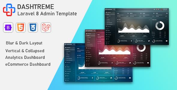 Dashtreme - Laravel 8+ Bootstrap5 Admin Template