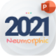2021 Neumorphic Premium PowerPoint Presentation Template - GraphicRiver Item for Sale